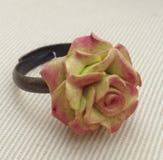 Flor Rose Ring Fotografia de Stock Royalty Free
