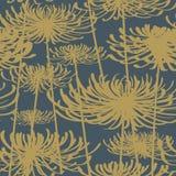 Flor sem emenda do teste padrão Imagens de Stock Royalty Free