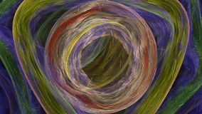 Flor simétrica - diseño del arte del fractal libre illustration
