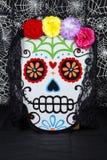 Flor Sugar Skull imagens de stock royalty free
