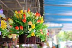 Flor V5 de la ejecución foto de archivo