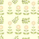Flor verde cor-de-rosa Fotos de Stock Royalty Free