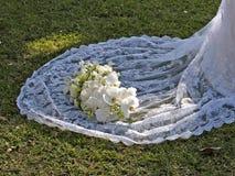 Flor - vestido fotografia de stock