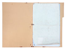 Flor vieja del documento fotos de archivo libres de regalías