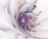 Flor violeta ilustração do vetor