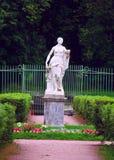 Flora. Antique sculpture. Gatchina Palace, inside the park Stock Images