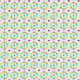 Flora Abstract Background Pattern sveglia illustrazione di stock