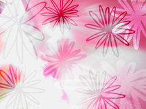 Flora abstract pattern Stock Photography