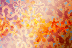 Flora abstract pattern Royalty Free Stock Image