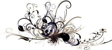 Flora abstrata Imagens de Stock Royalty Free