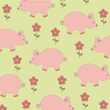 Flora background pattern Royalty Free Stock Images