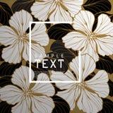 Flora Cover ontwerp-2 stock illustratie
