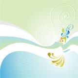 Flora da cor Imagem de Stock Royalty Free
