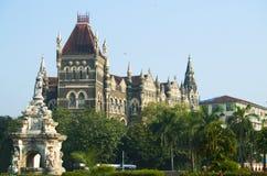 Flora da fonte na cidade de Mumbai fotos de stock
