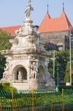 Flora de la fuente en la ciudad de Bombay Fotos de archivo libres de regalías