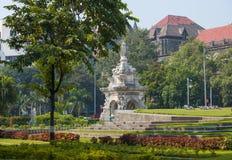 Flora della fontana nella città di Mumbai Immagine Stock Libera da Diritti