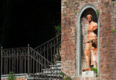 Flora-estátua imagem de stock
