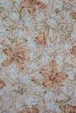 Flora fabric. Royalty Free Stock Image