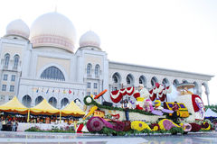 Flora Fest Farben der Harmonie besichtigen Malaysia 2007 Stockbild