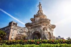 Flora Fountain em Mumbai Imagem de Stock