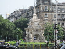Flora Fountain in Mumbai, India Royalty Free Stock Photos
