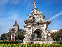 Flora Fountain in Mumbai Royalty Free Stock Photography
