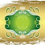 Flora frame stock illustration