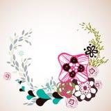 Flora garden design Stock Photography