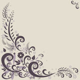 Flora graphic background Stock Photography