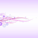 Flora graphic background Royalty Free Stock Images