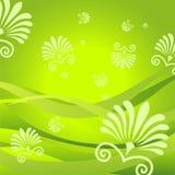 Flora-Hintergrund Lizenzfreie Stockbilder