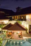 Flora Kuta Hotel i Bali Royaltyfria Bilder