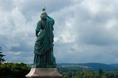 Flora MacDonald staty - Inverness, Skottland Arkivbilder