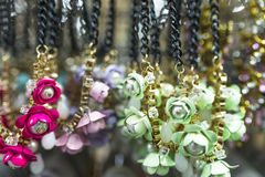 Flora Necklace Royalty Free Stock Photos