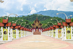 Flora Palace reale in Chiangmai Fotografie Stock