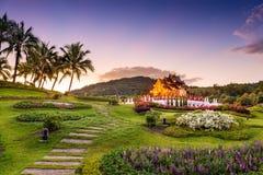 Flora Park real de Chiang Mai, Tailândia imagem de stock royalty free