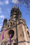 Emperor Wilhelm II Memorial Church at Berlin Stock Photo