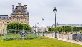Flora Pavilion Das Louvre Der Tuileries-Park paris stockfotografie