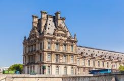 Flora pawilonu ot Pont i louvre Królewscy paris Zdjęcie Royalty Free