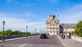 Flora pawilonu ot Pont i louvre Królewscy paris Zdjęcie Stock