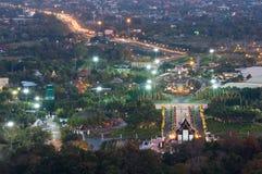 Flora Ratchaphruek Park real fotografia de stock royalty free