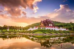 Flora Ratchaphruek Park real de Tailândia imagens de stock royalty free
