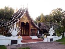 Flora Ratchaphruek Park real em Chiang Mai foto de stock