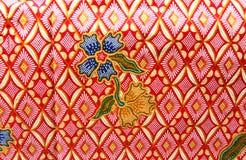 Flora Sarong textur Royaltyfria Foton