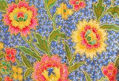 Flora Sarong textur Royaltyfri Bild