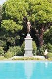 Flora Statue en el jardín botánico nikitsky, Yalta Fotos de archivo libres de regalías