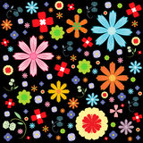 Flora vector pattern designs Royalty Free Stock Photo