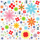 Flora vector pattern designs Stock Photography
