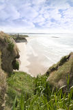 Flora view from the top of the cliffs in Ballybunion Royalty Free Stock Photos