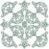 Flora vintage pattern, decorative ornament motif Stock Photo
